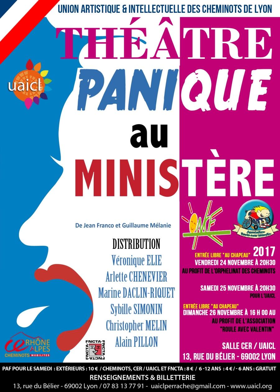 2017 NOVEMBRE PANIQUE AU MINISTERE 3 DATES